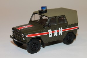 Car 26 Military Traffic Police